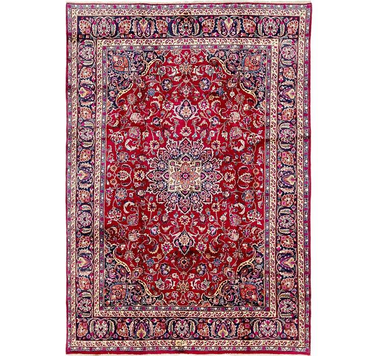 235cm x 335cm Mashad Persian Rug