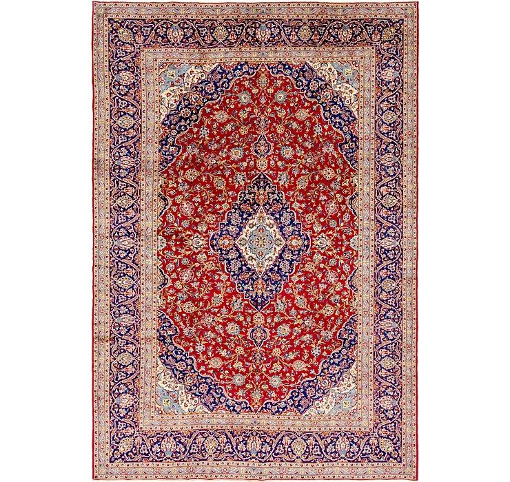 9' 10 x 14' 4 Kashan Persian Rug