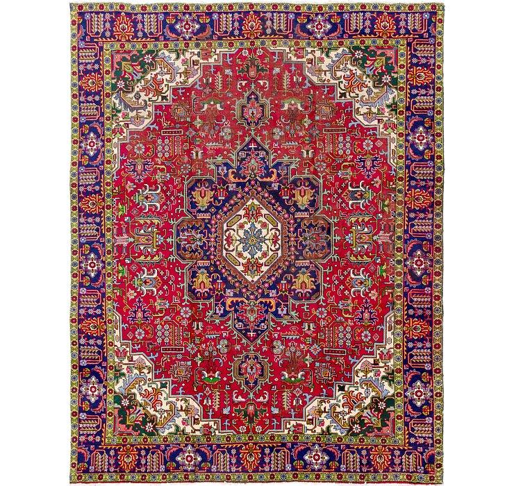 9' 5 x 12' 3 Tabriz Persian Rug