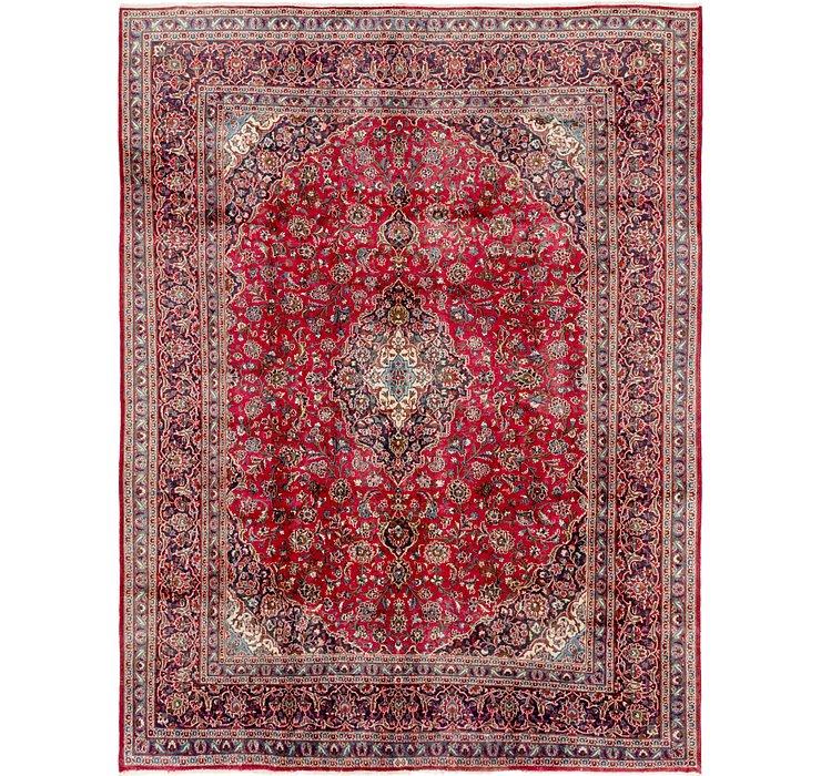 9' 7 x 12' 5 Kashan Persian Rug