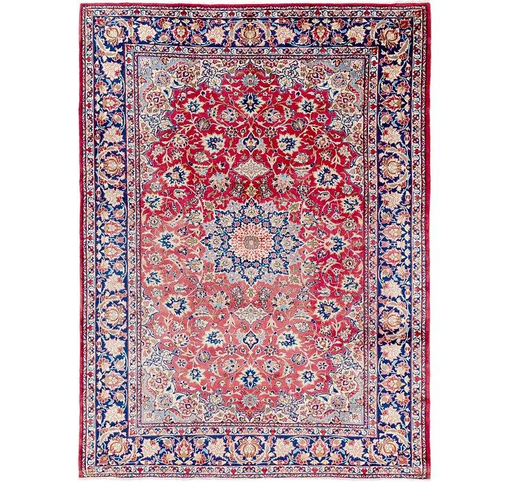 9' 7 x 12' 9 Isfahan Persian Rug