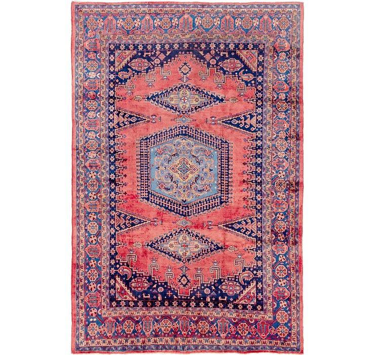 262cm x 390cm Viss Persian Rug