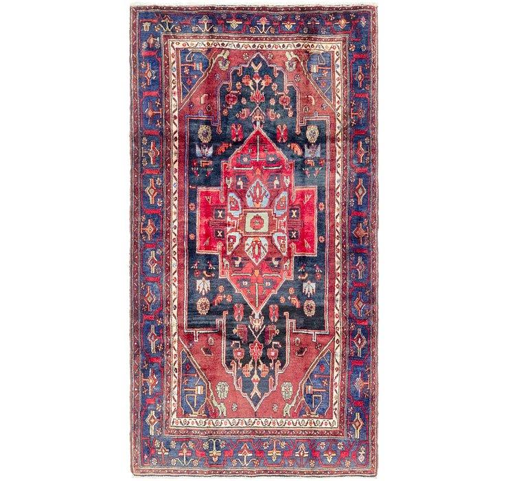 4' 4 x 8' 6 Sanandaj Persian Rug