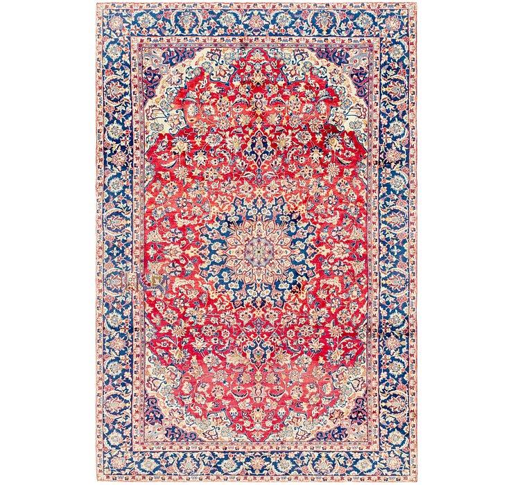 7' 8 x 11' 5 Isfahan Persian Rug