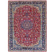 Link to 9' 7 x 13' Isfahan Persian Rug