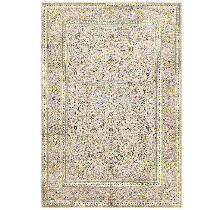 HandKnotted 8' x 11' 10 Kashan Persian Rug