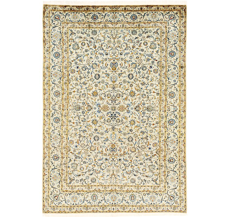 9' 5 x 13' 6 Kashan Persian Rug