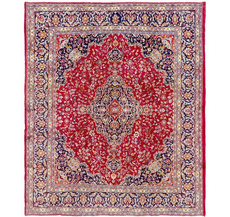 292cm x 345cm Mashad Persian Rug