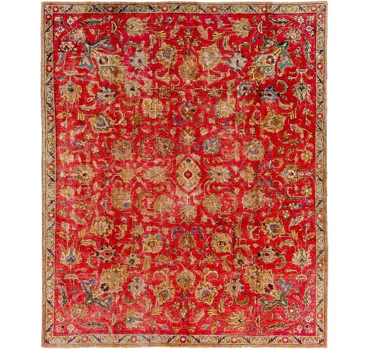 7' 5 x 9' Tabriz Persian Rug