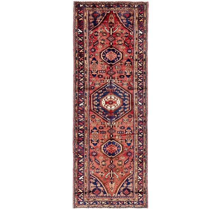 110cm x 297cm Zanjan Persian Runner Rug