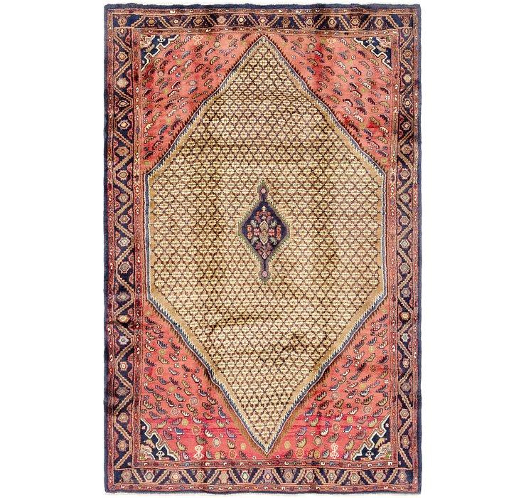 5' 4 x 8' 9 Koliaei Persian Rug