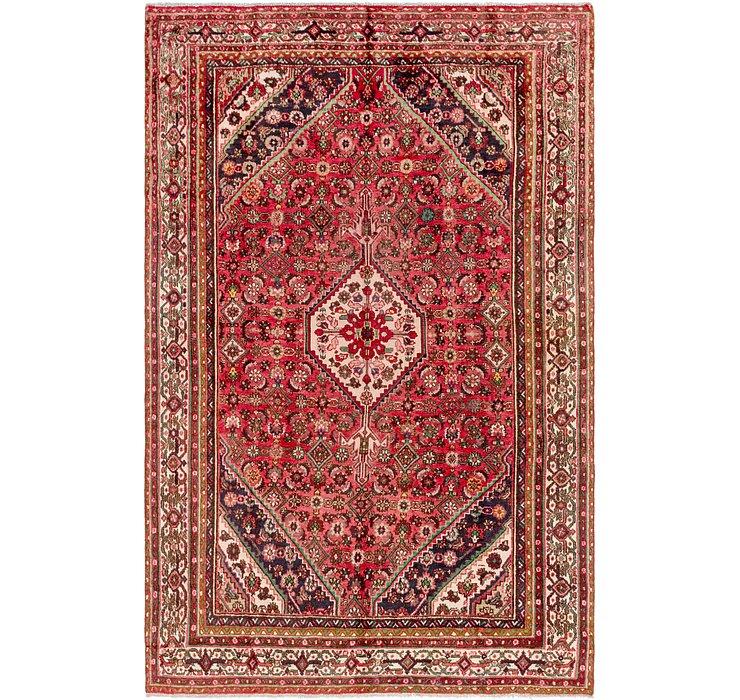 6' 7 x 10' 2 Hamedan Persian Rug