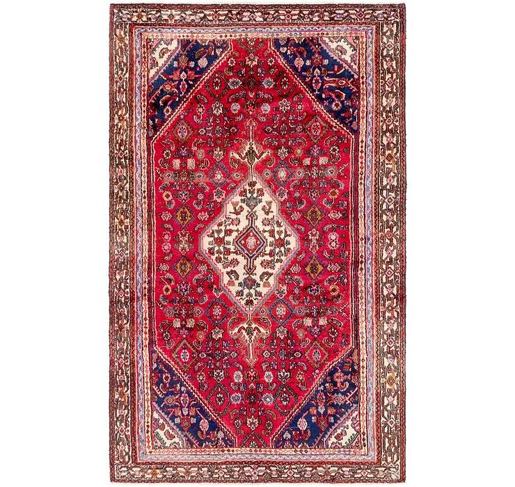 6' x 9' 7 Hamedan Persian Rug