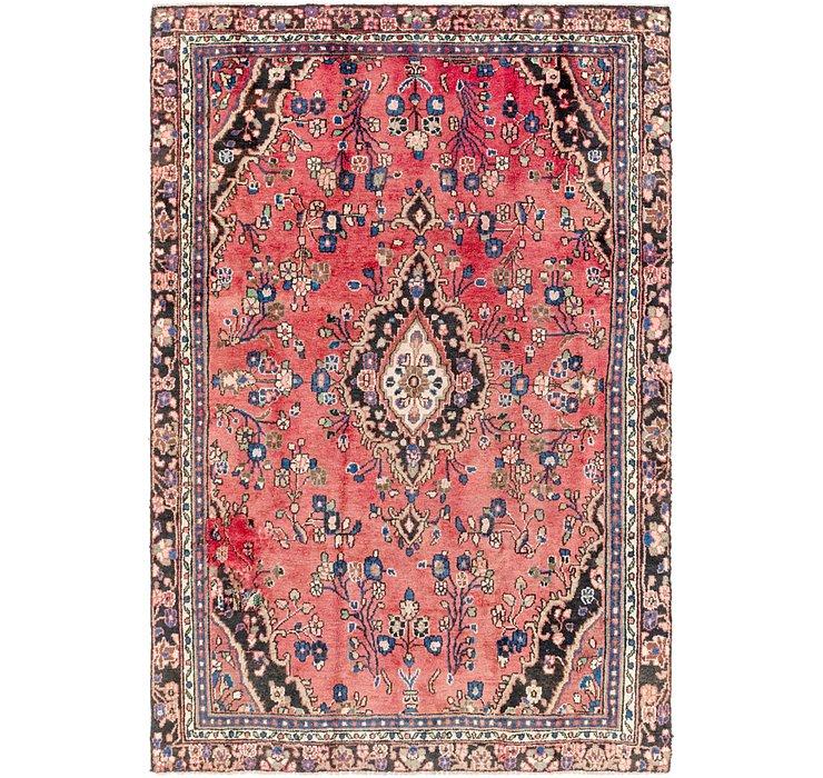 6' 3 x 9' Hamedan Persian Rug