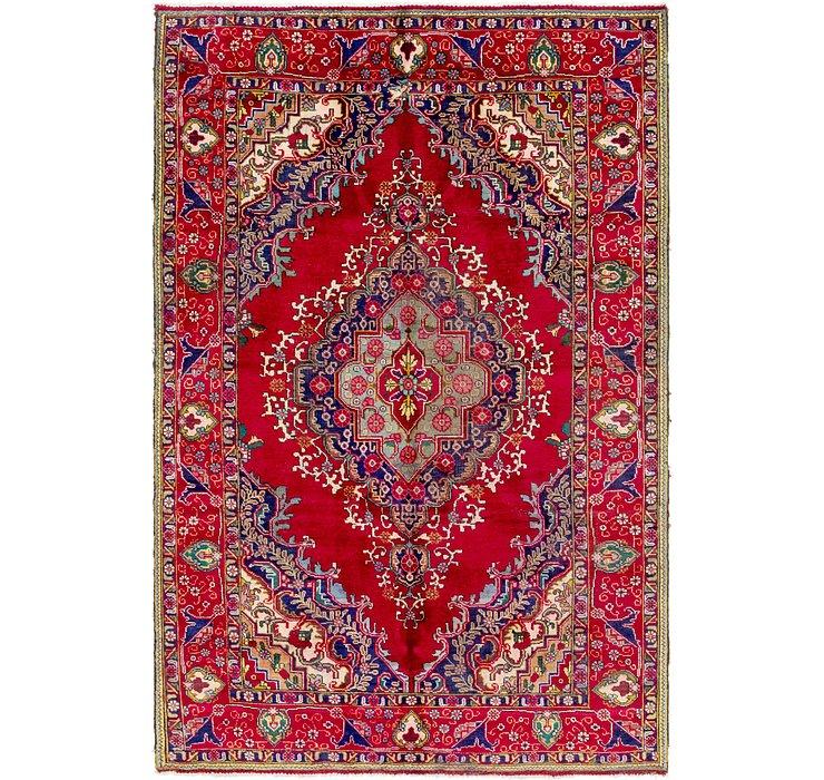6' 6 x 10' 3 Tabriz Persian Rug