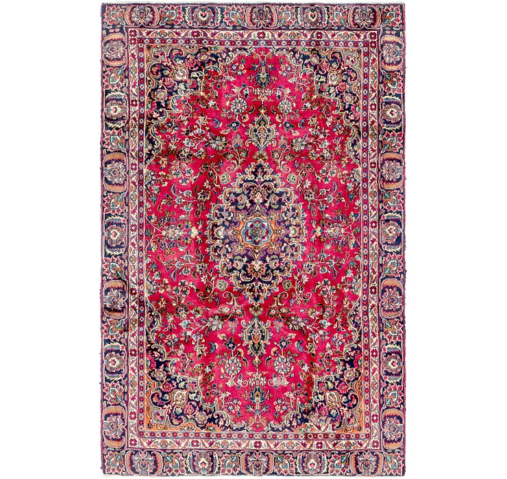 5' 5 x 9' Mashad Persian Rug