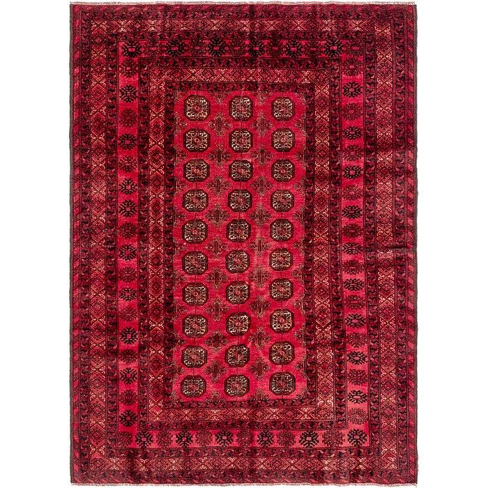 6' 8 x 9' 3 Torkaman Persian Rug