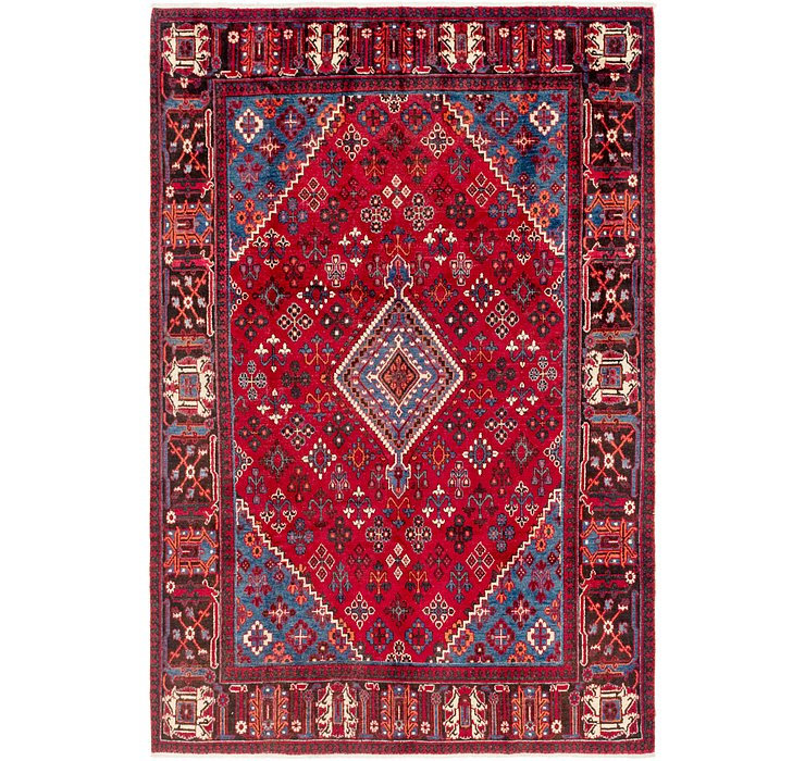 7' x 10' 9 Joshaghan Persian Rug