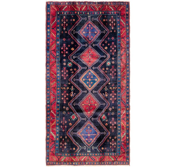 152cm x 300cm Gholtogh Persian Runner...