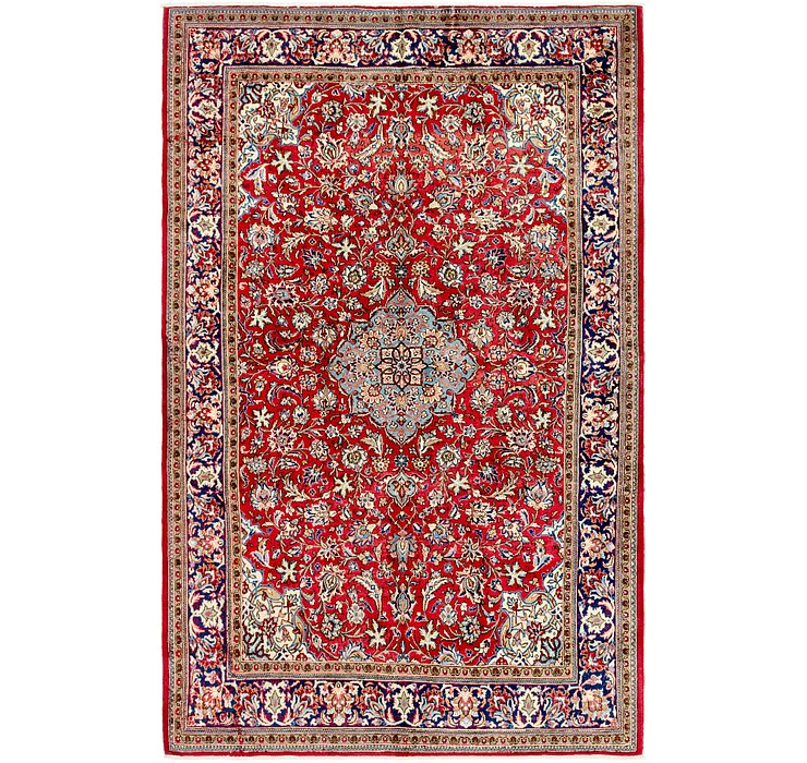 6' 5 x 10' Isfahan Persian Rug
