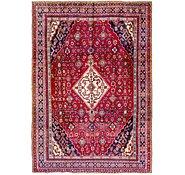 Link to 213cm x 305cm Hamedan Persian Rug