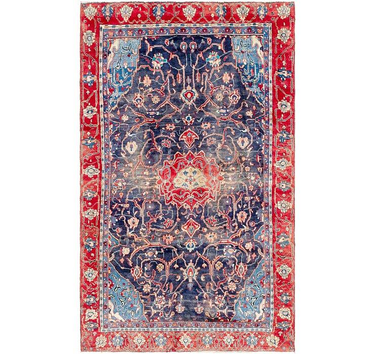 6' x 10' 2 Mahal Persian Rug