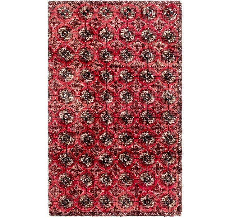 5' 2 x 8' 6 Torkaman Persian Rug