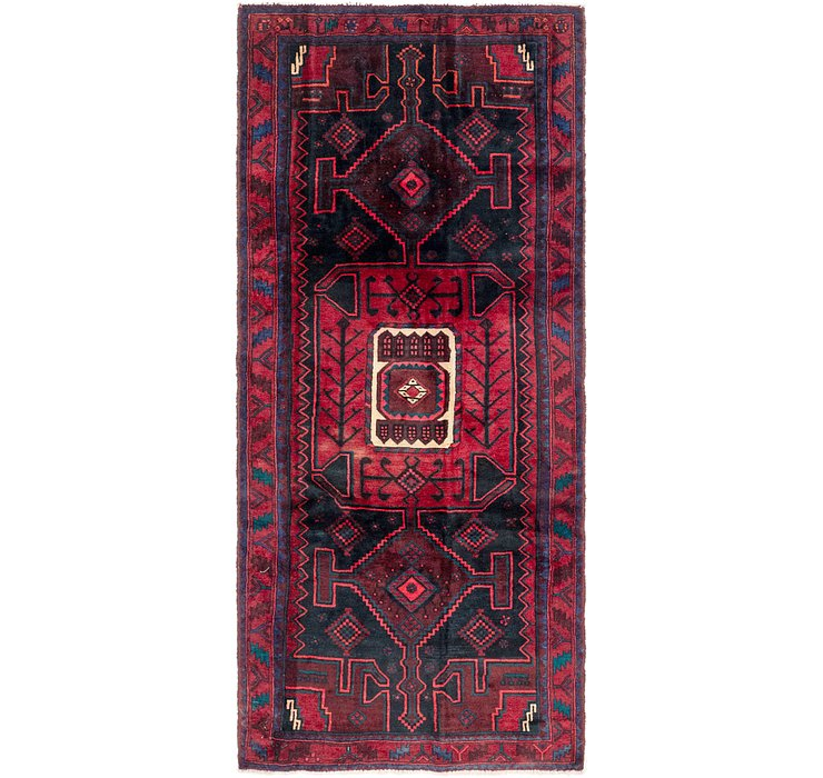 4' 3 x 10' Gholtogh Persian Runner...