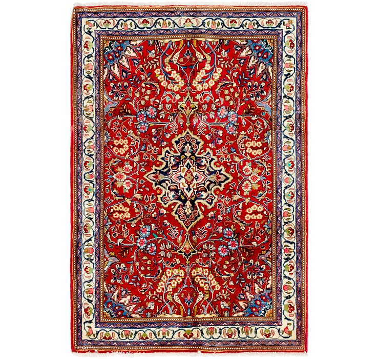 3' 6 x 5' 2 Sharough Persian Rug