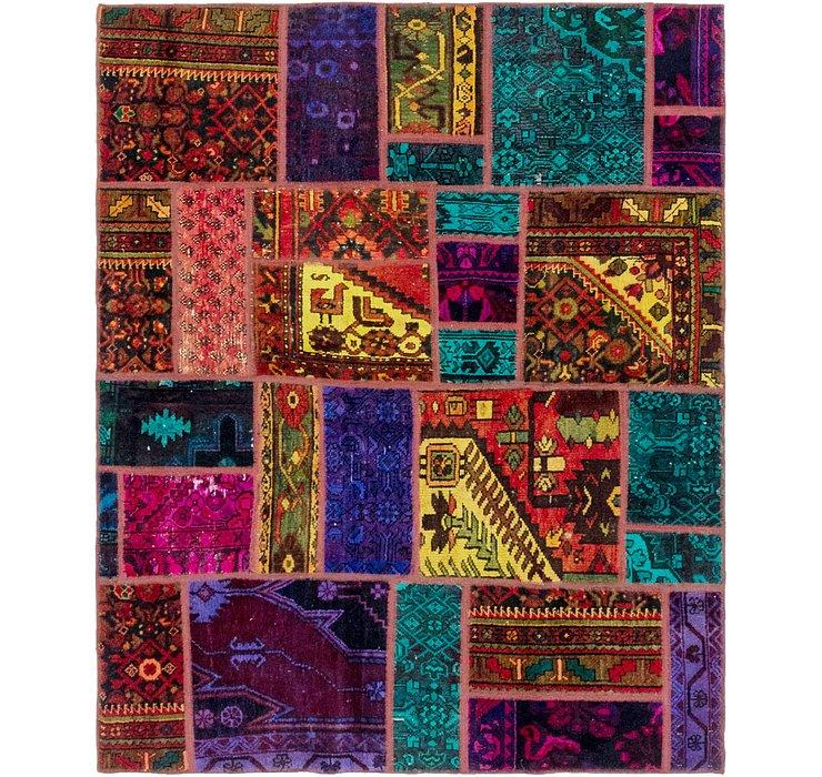 157cm x 195cm Ultra Vintage Persian S...