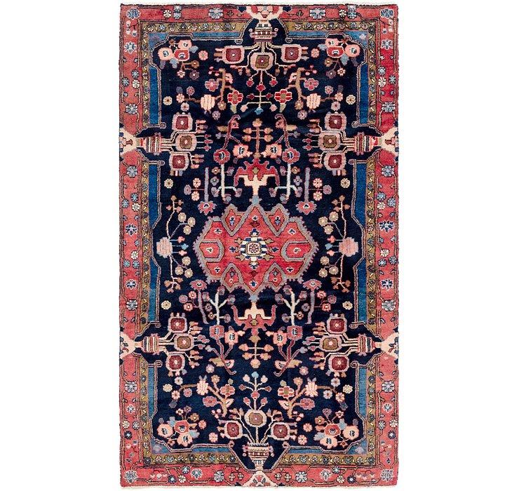 4' 9 x 8' 9 Nahavand Persian Rug