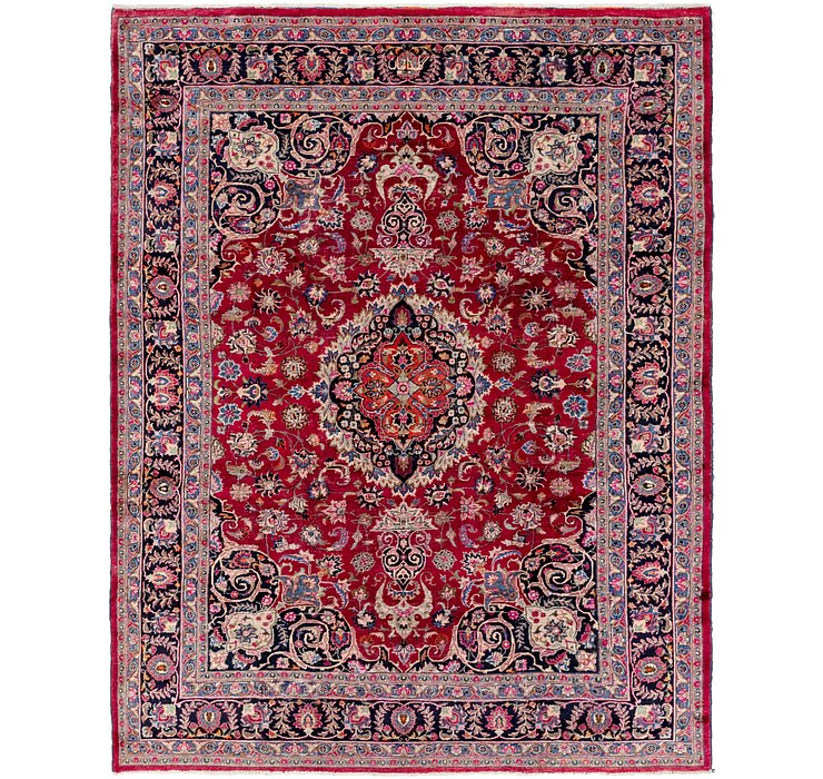 8' 7 x 11' 2 Mashad Persian Rug