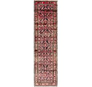 Link to 90cm x 365cm Hossainabad Persian Runner Rug