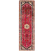 Link to 3' x 10' 7 Hossainabad Persian Runner Rug