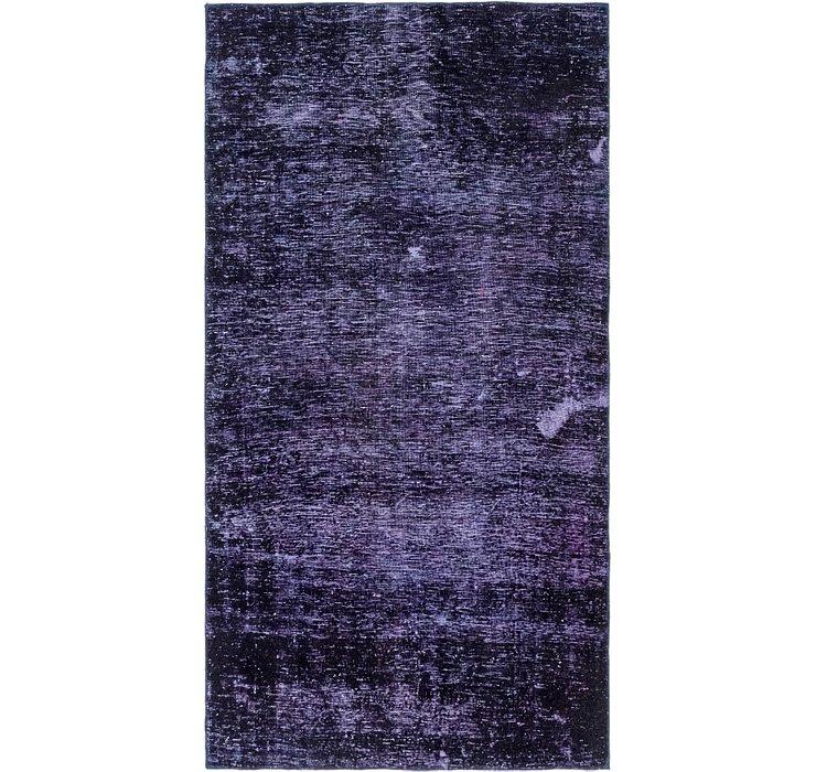 4' 10 x 9' 3 Ultra Vintge Persian Ru...