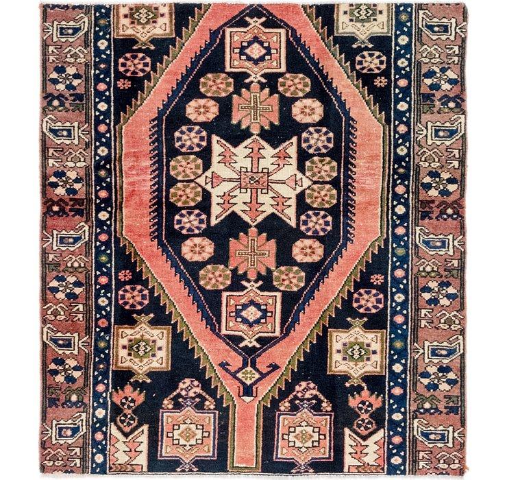 3' 8 x 4' 2 Mazlaghan Persian Rug