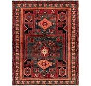 Link to 4' 6 x 5' 9 Hamedan Persian Rug