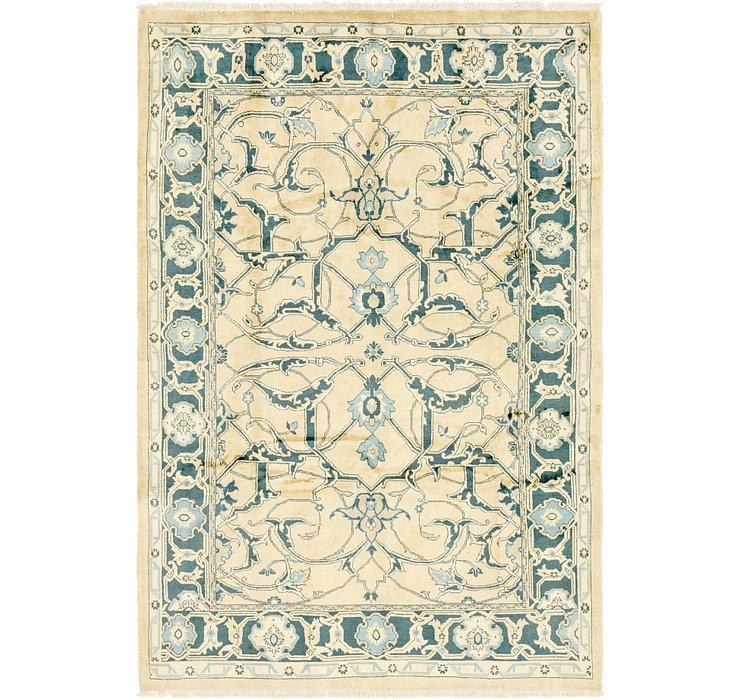 7' x 10' 4 Meshkabad Persian Rug