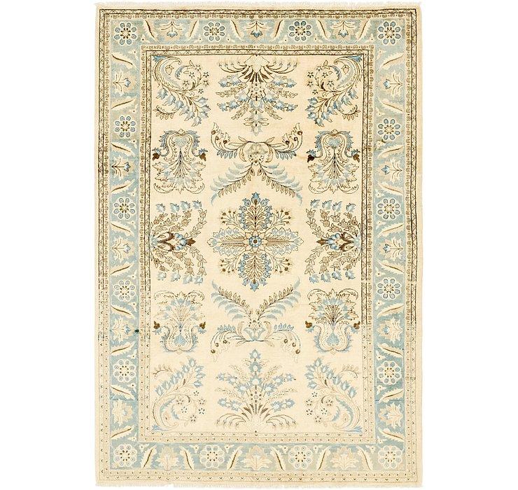 6' 9 x 10' Meshkabad Persian Rug