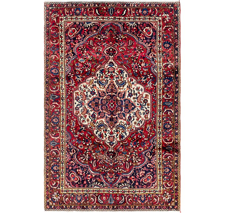 7' x 10' 8 Bakhtiari Persian Rug