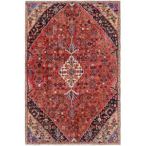 6' 6 x 9' 7 Hamedan Persian Rug