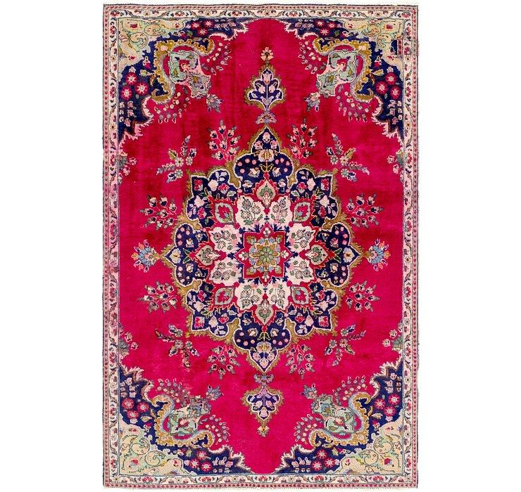 5' 4 x 8' 3 Tabriz Persian Rug