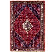 Link to 208cm x 305cm Hamedan Persian Rug