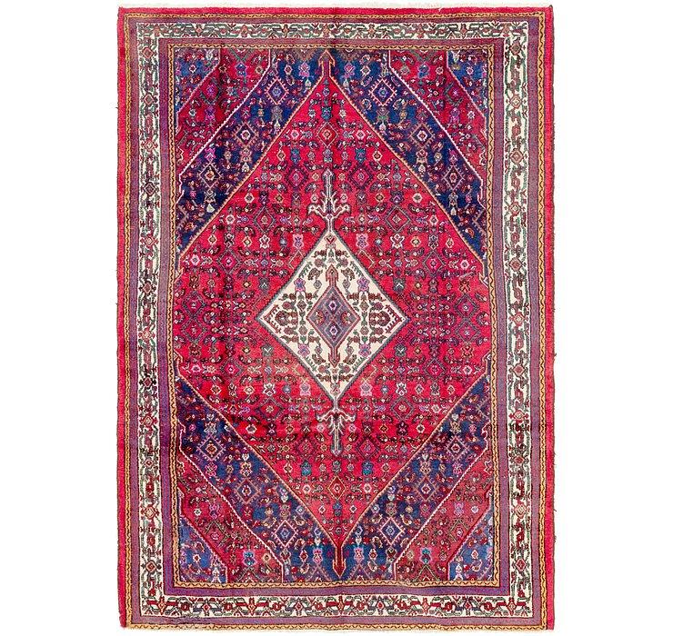 6' 10 x 10' Hamedan Persian Rug