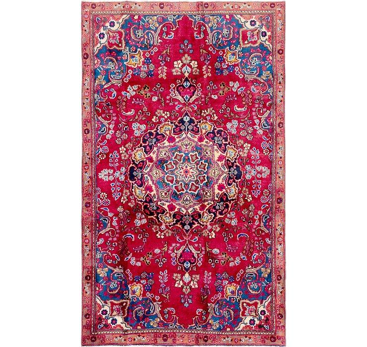 4' 7 x 7' 8 Mashad Persian Rug