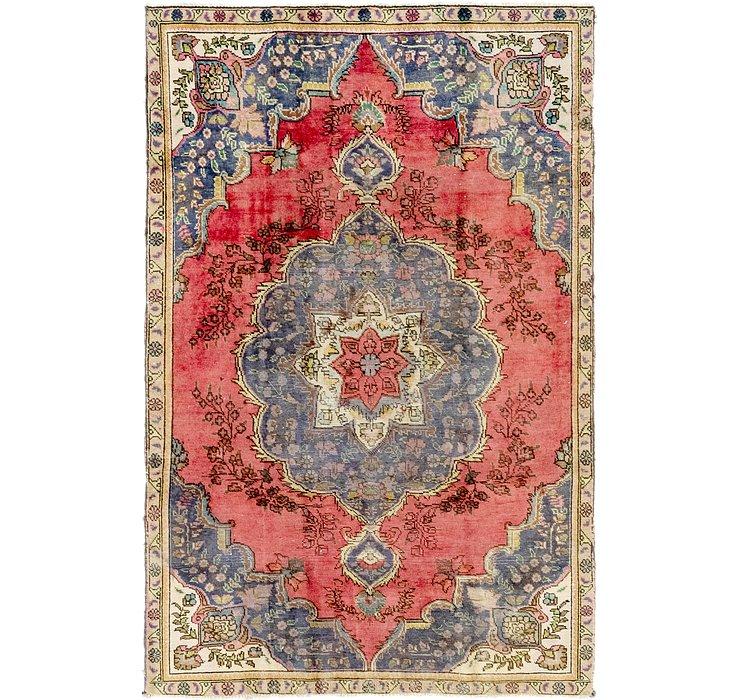 5' x 8' Tabriz Persian Rug