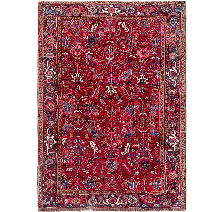 7' 6 x 10' 3 Heriz Persian Rug