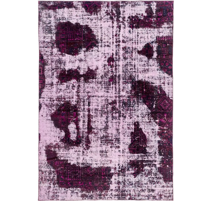 7' 8 x 11' 4 Ultra Vintage Persian Rug