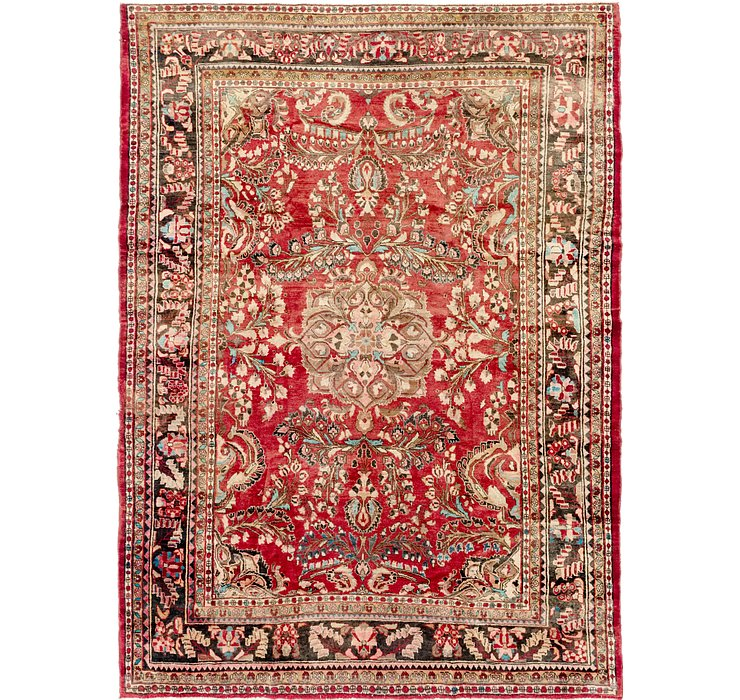 9' x 12' 2 Hamedan Persian Rug