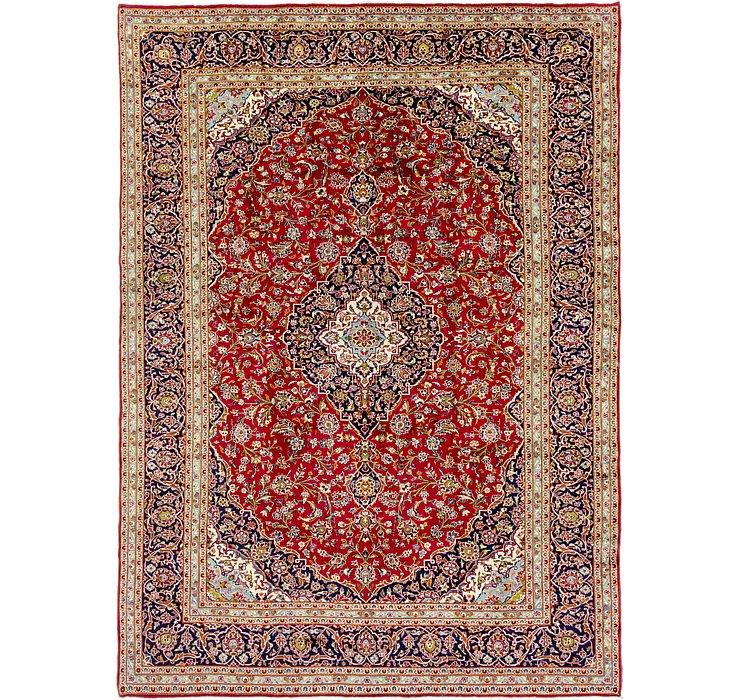 10' x 13' 7 Kashan Persian Rug